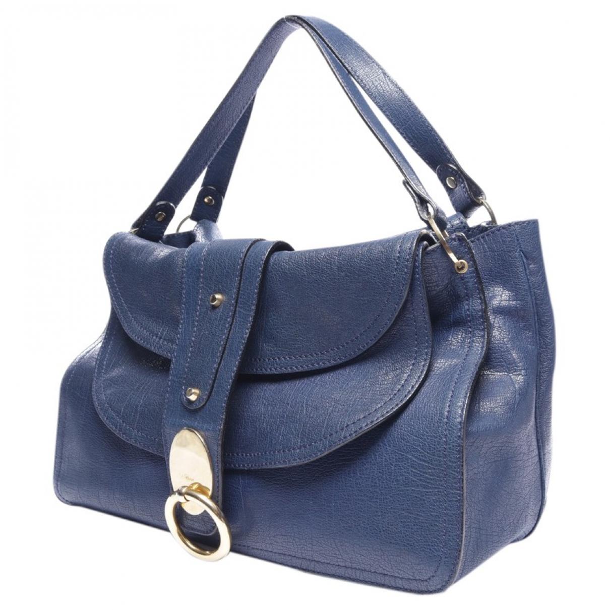 Chloé N Blue Leather handbag for Women N
