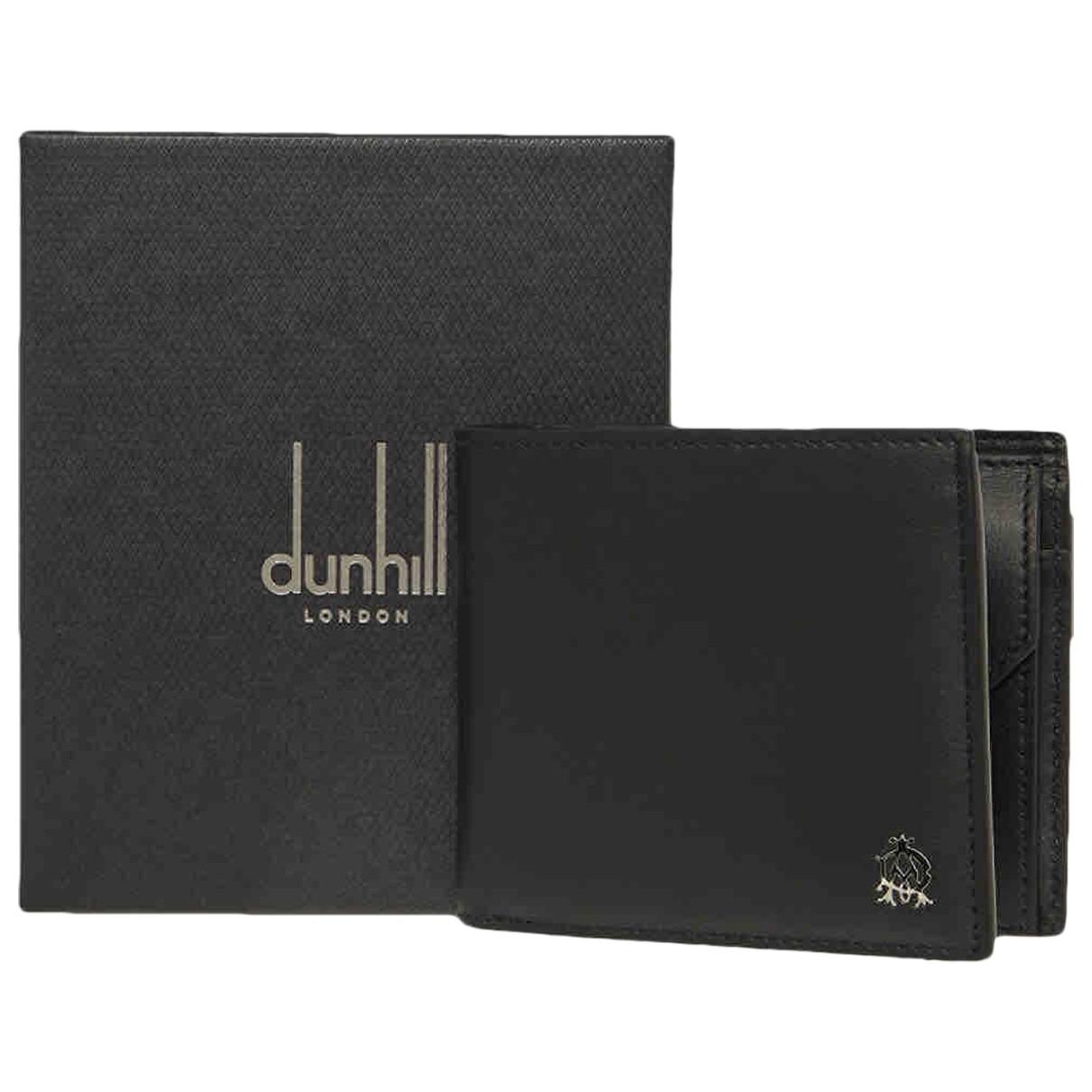 Alfred Dunhill - Petite maroquinerie   pour homme en cuir - noir