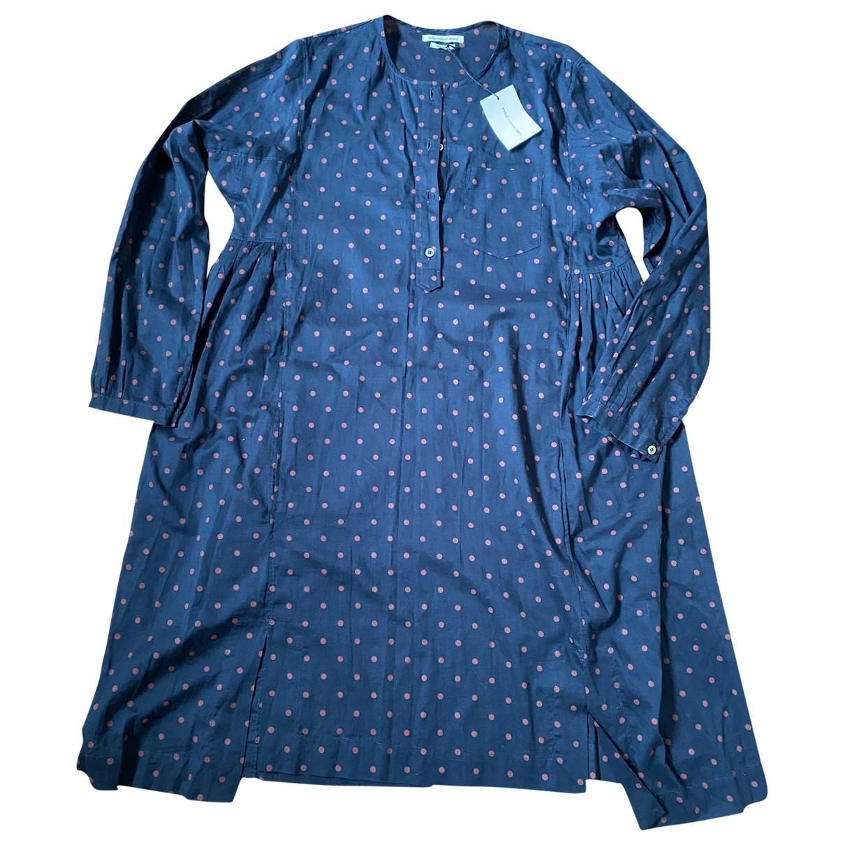 Isabel Marant Etoile \N Kleid in  Blau Baumwolle