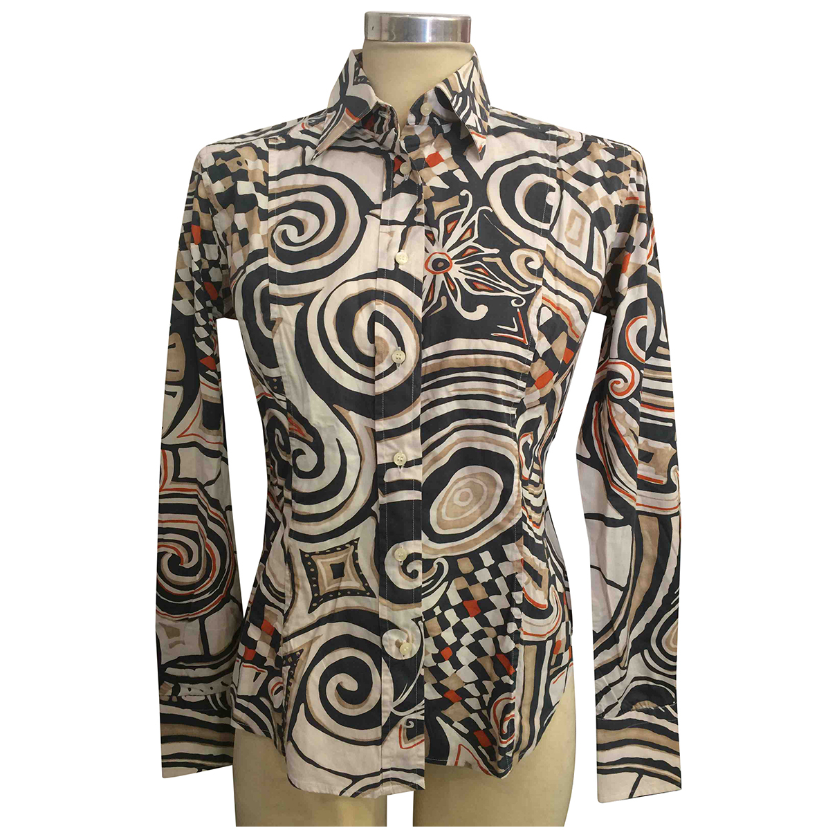 Etro \N Multicolour Cotton  top for Women 42 IT