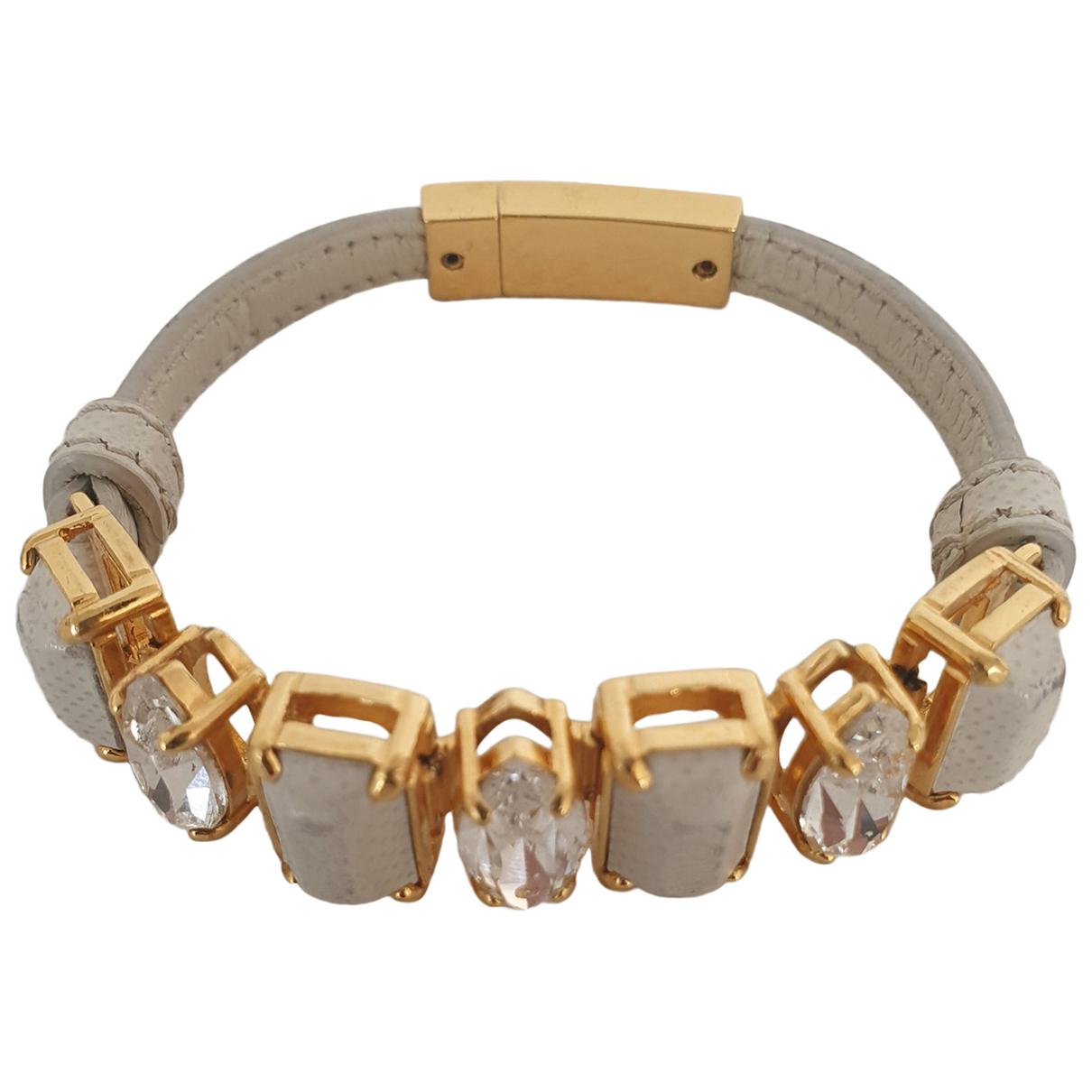 Prada \N Grey Leather bracelet for Women \N