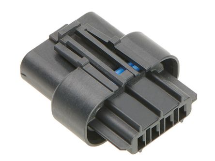 Molex , Squba 3.6 Female Crimp Connector Housing, 3.6mm Pitch, 4 Way, 1 Row (52)