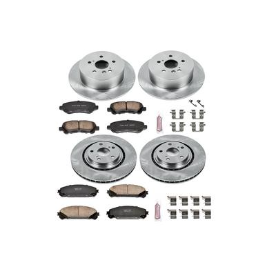 Power Stop Autospecialty 1-Click Daily Driver Brake Kits - KOE4129