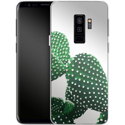 Samsung Galaxy S9 Plus Silikon Handyhuelle - Cacti von Mukta Lata Barua