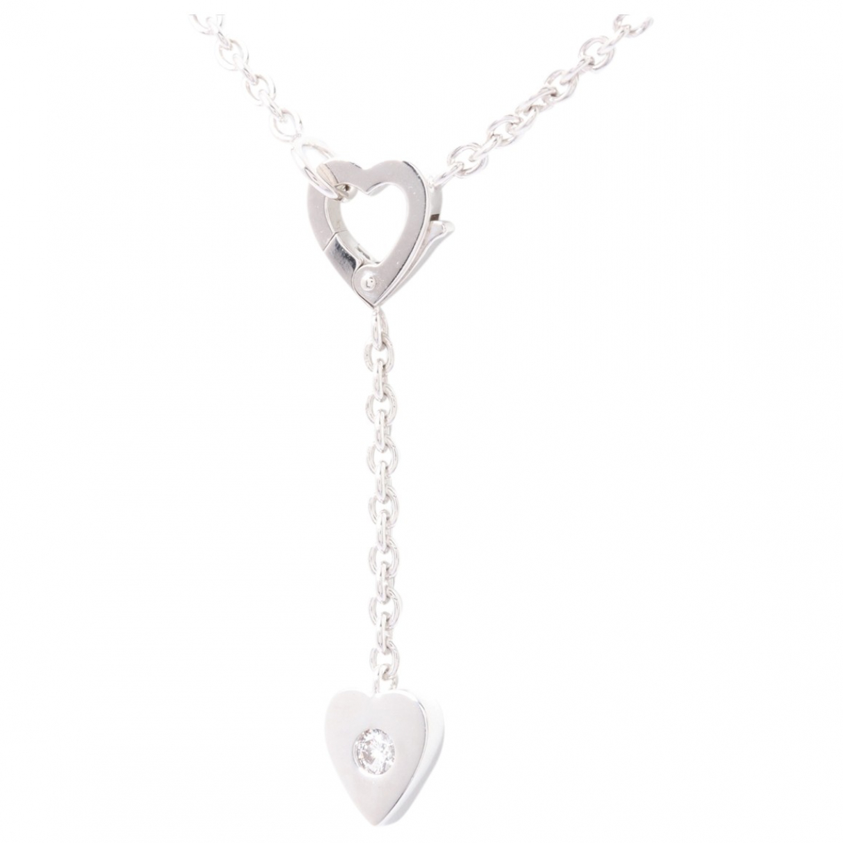 Cartier N Silver White gold necklace for Women N