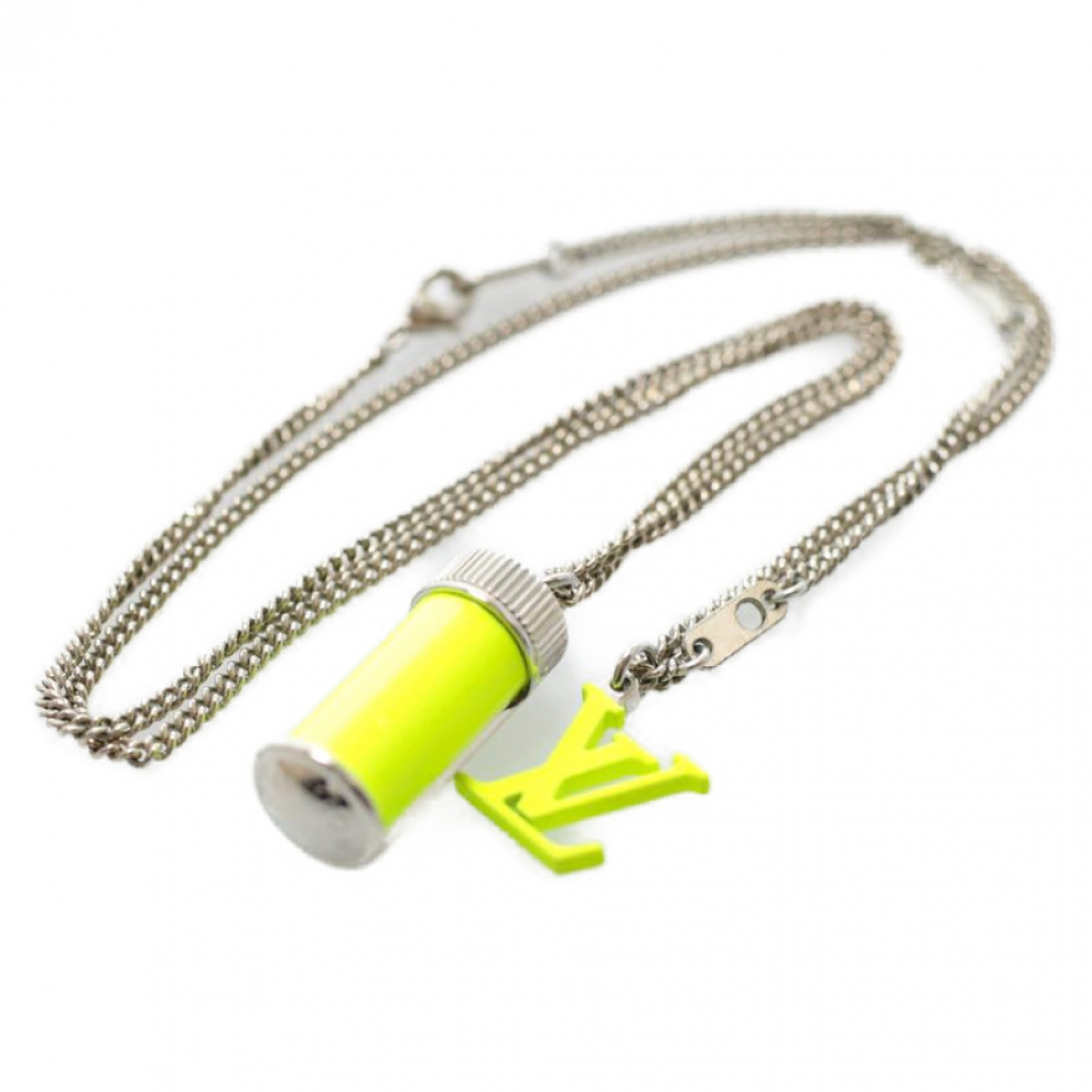 Louis Vuitton - Collier   pour femme en metal - jaune