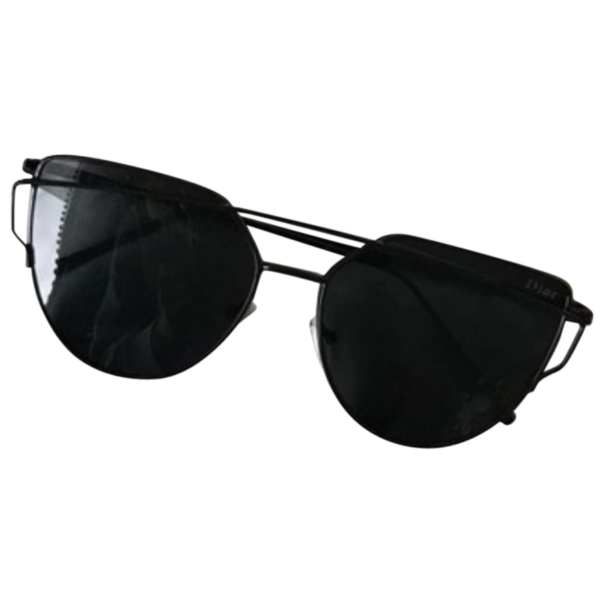 Prada N Black Metal Sunglasses for Women N