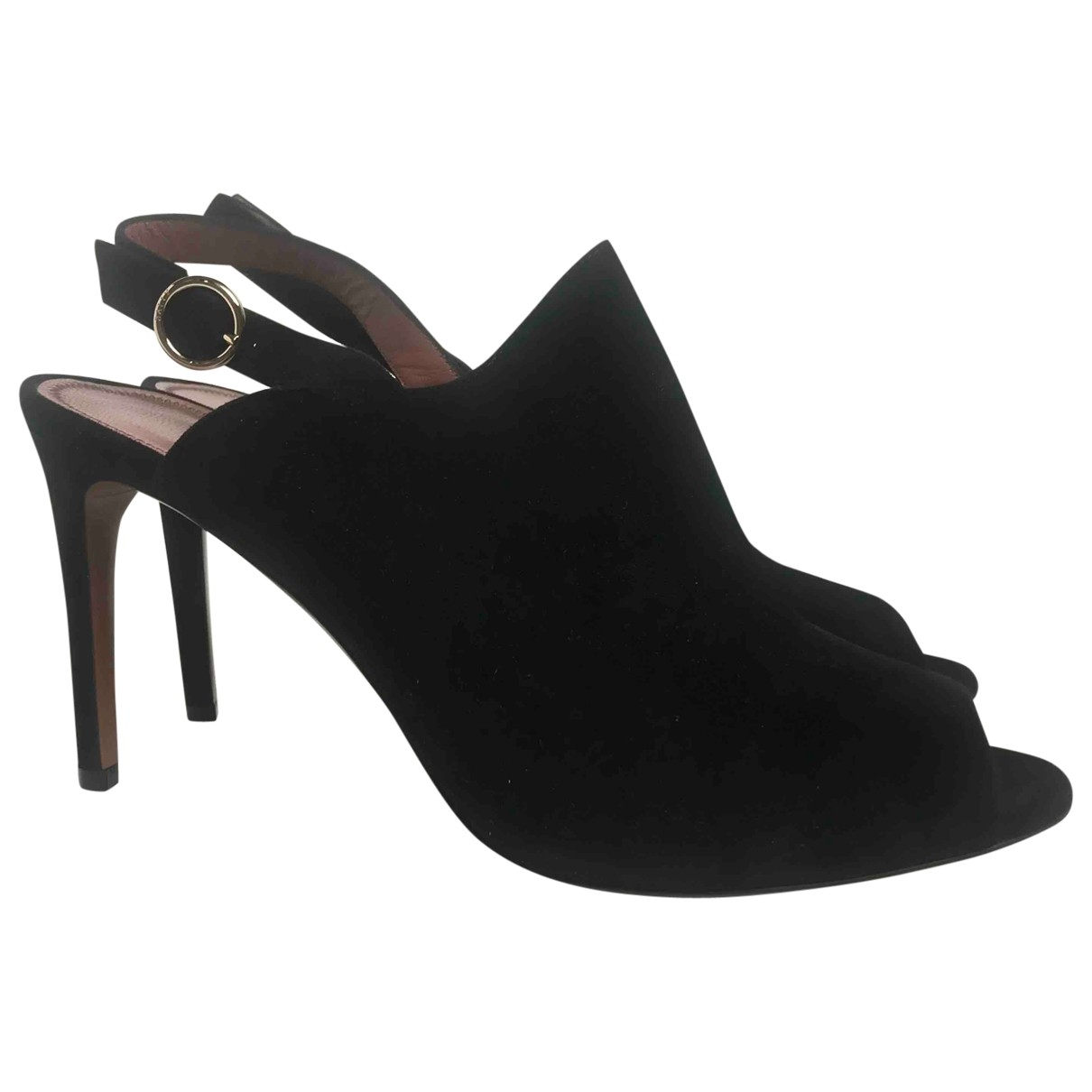 Bally \N Black Suede Sandals for Women 40 EU