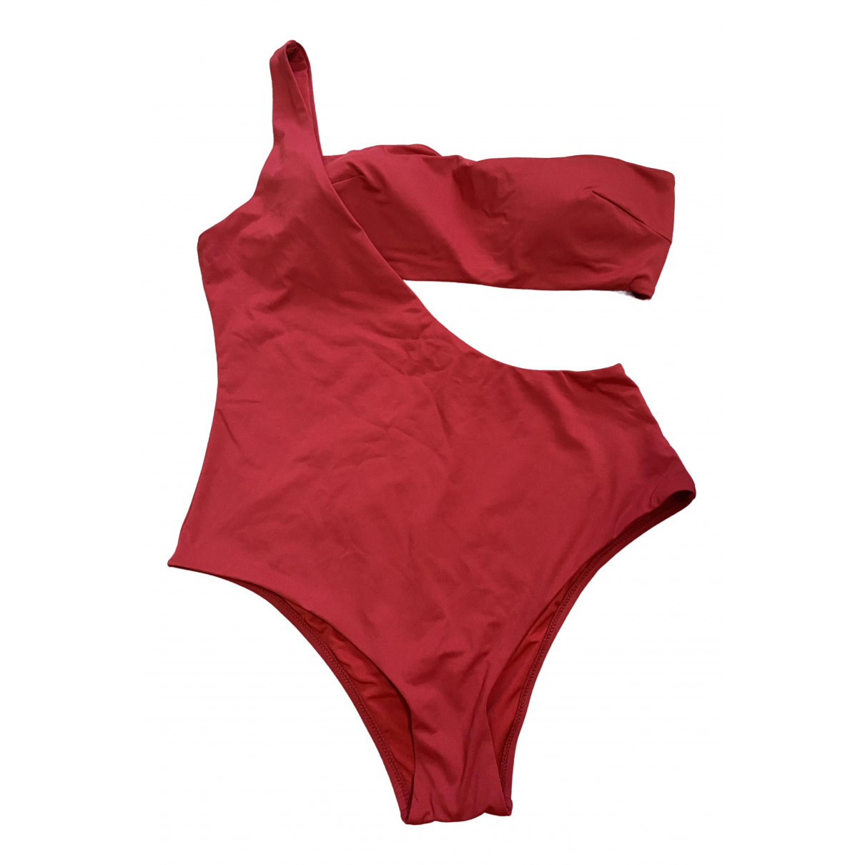 Oysho \N Red Lycra Swimwear for Women L International