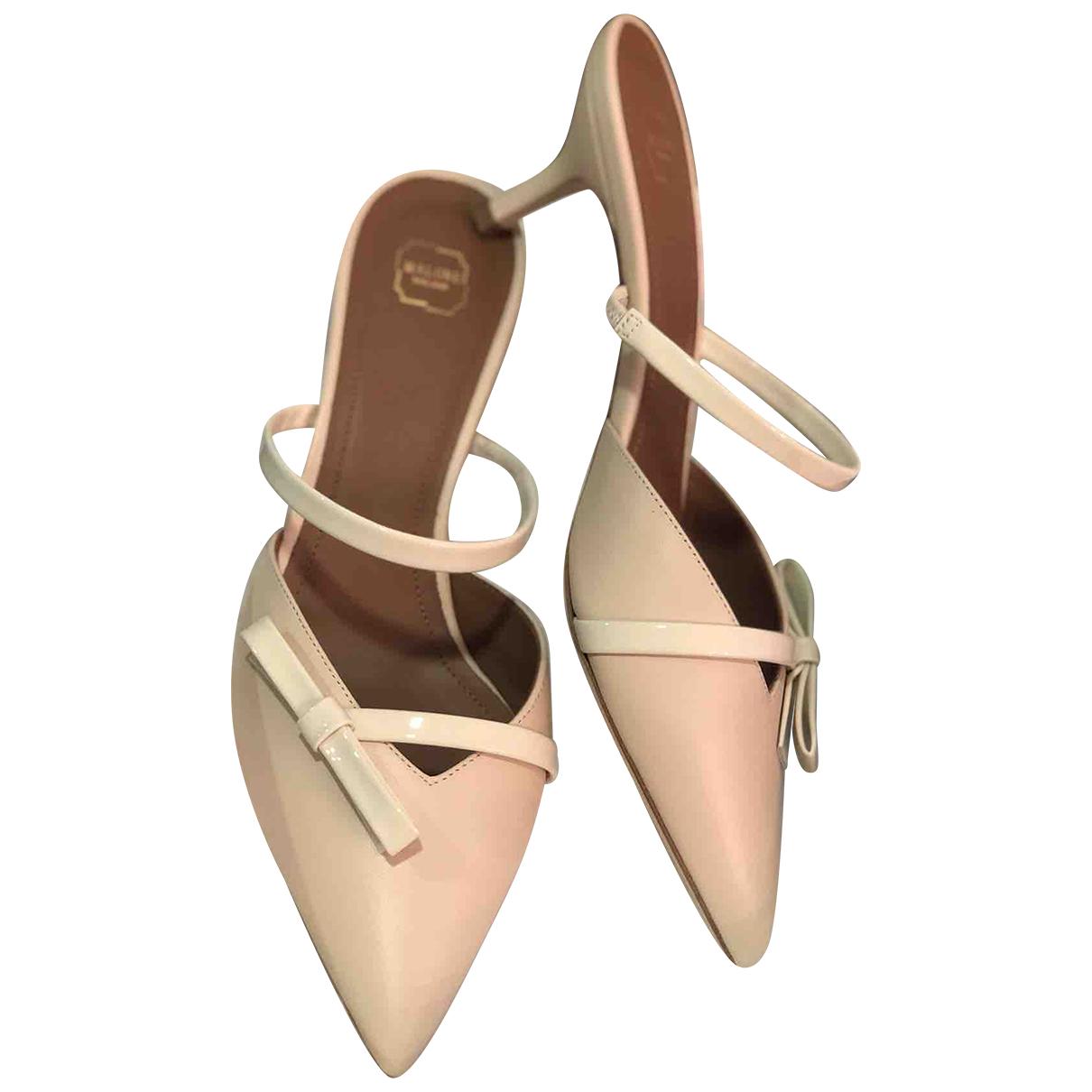 Malone Souliers \N Beige Leather Sandals for Women 38.5 EU