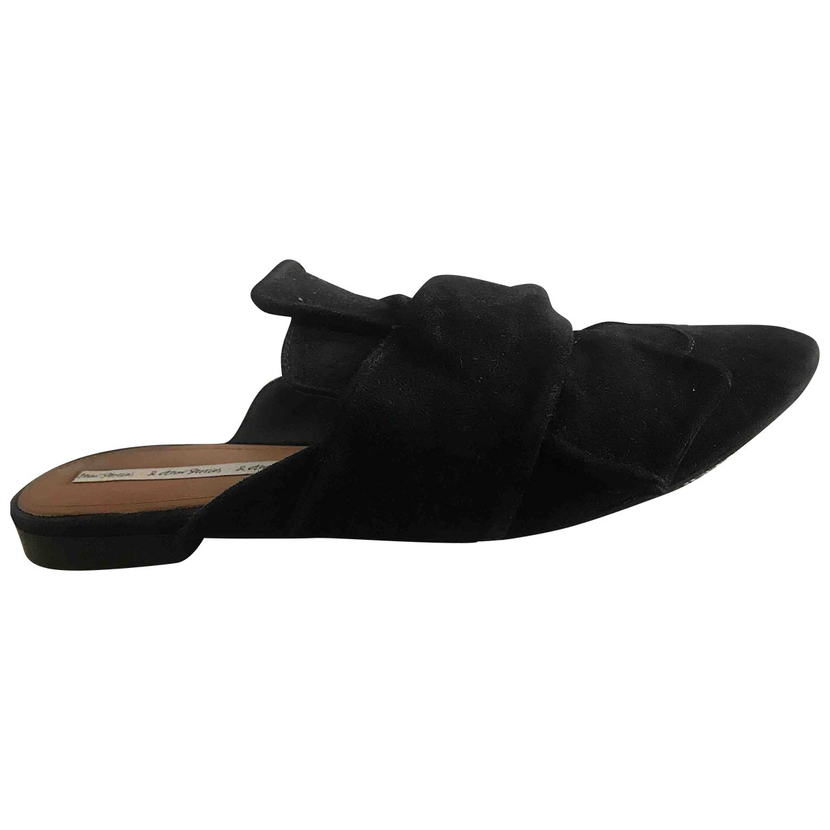 & Stories \N Black Suede Flats for Women 41 EU