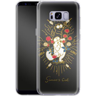 Samsung Galaxy S8 Plus Silikon Handyhuelle - Simon´s Cat and Kitten von Simons Cat