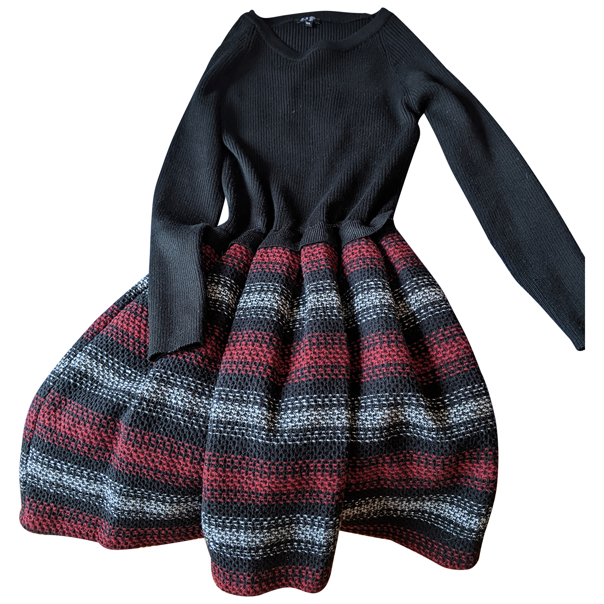 Brigitte Bardot \N Kleid in  Schwarz Synthetik