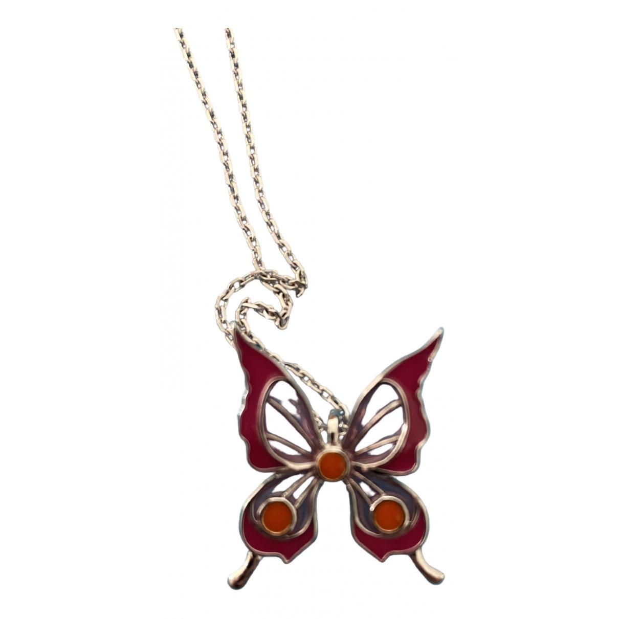 Lalique \N Anhaenger in  Rosa Silber