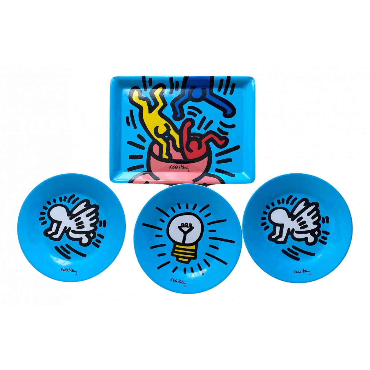 Keith Haring - Arts de la table   pour lifestyle - multicolore
