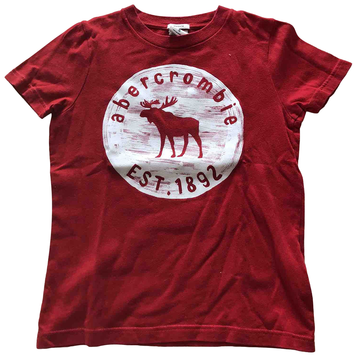Abercrombie & Fitch \N Grey Cotton  top for Kids 14 years - S UK