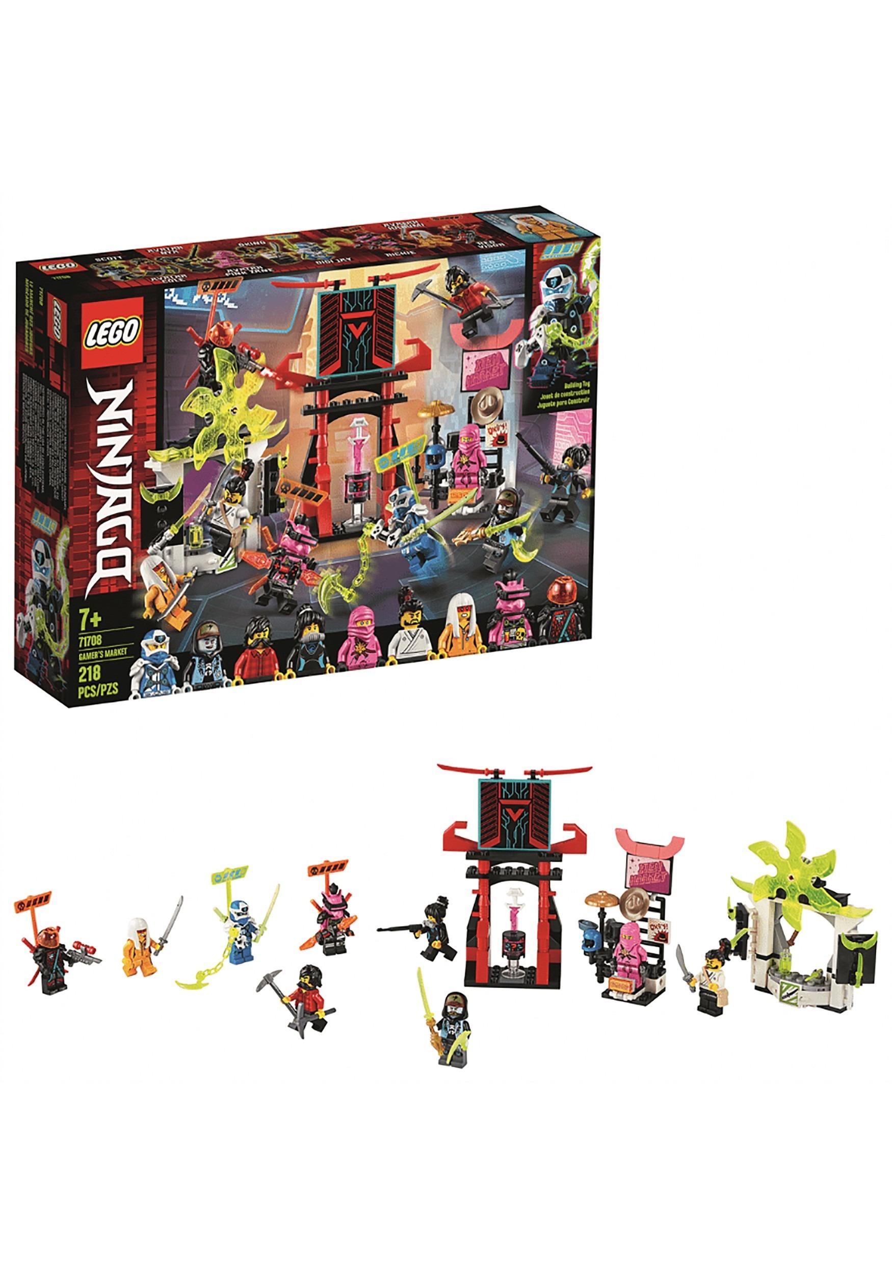 Ninjago LEGO Gamer's Market Building Set