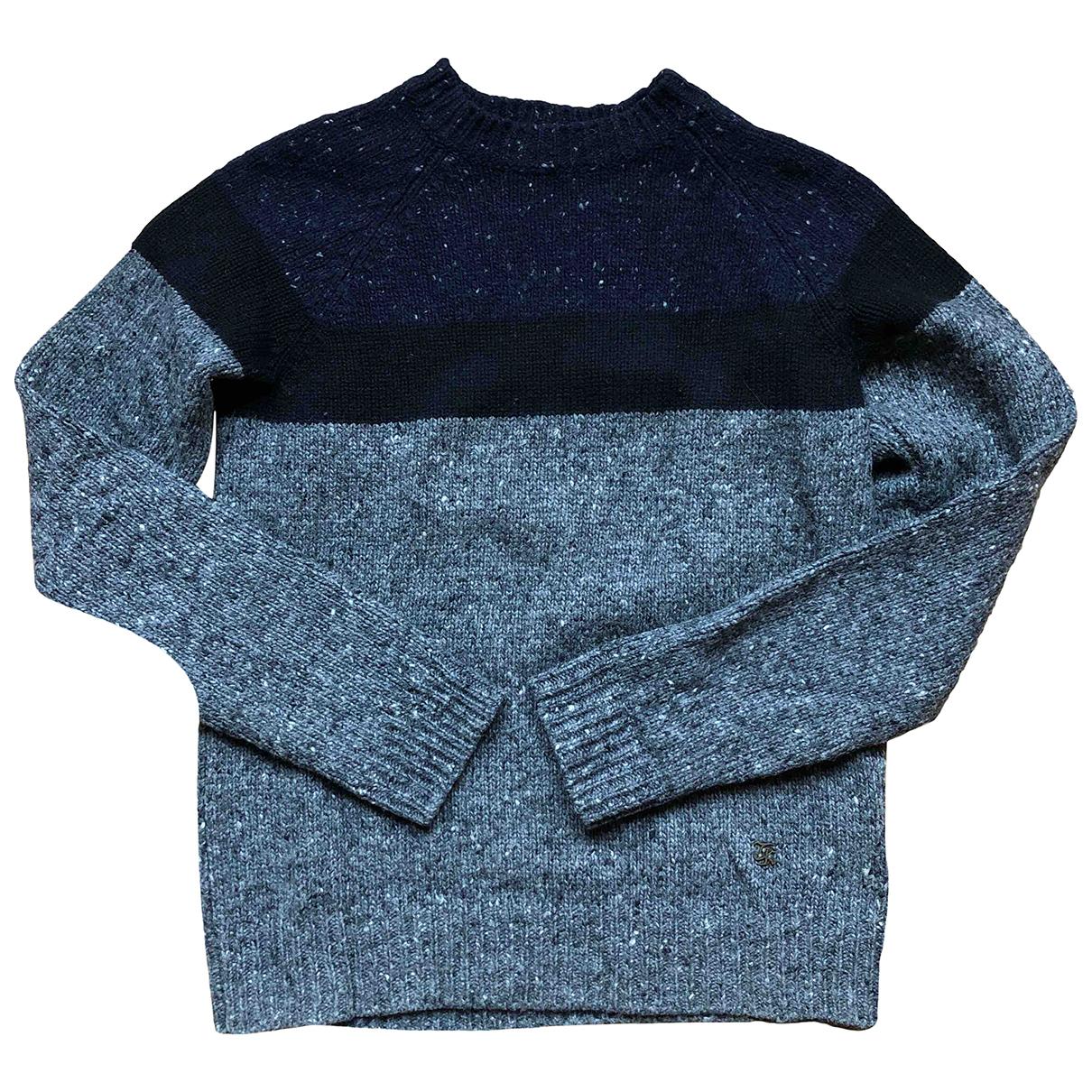 The Kooples \N Pullover.Westen.Sweatshirts  in  Grau Wolle