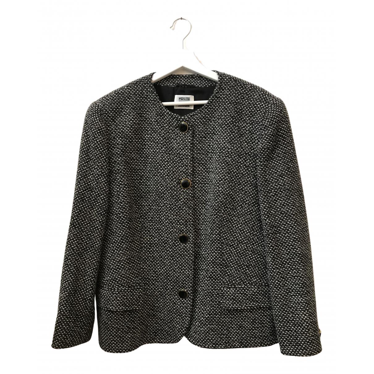 Krizia N Multicolour Wool jacket for Women 46 IT