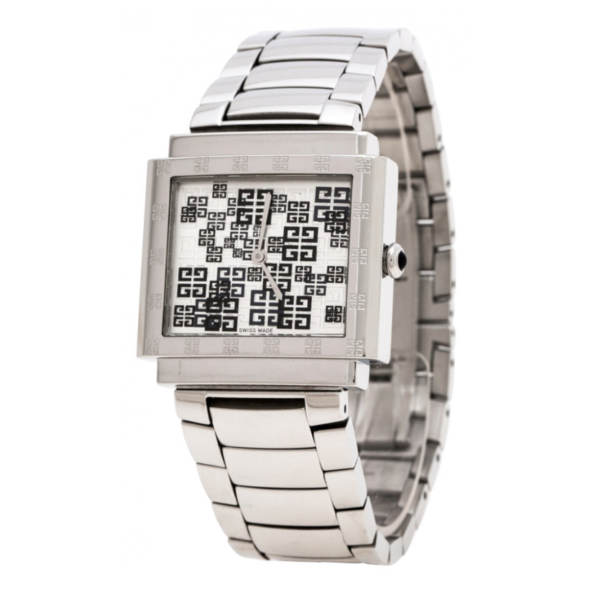 Givenchy \N Silver Steel watch for Women \N