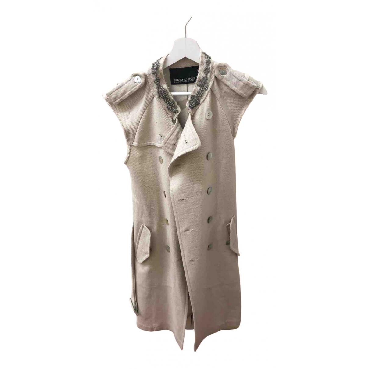Ermanno Scervino - Pull   pour femme en coton - blanc