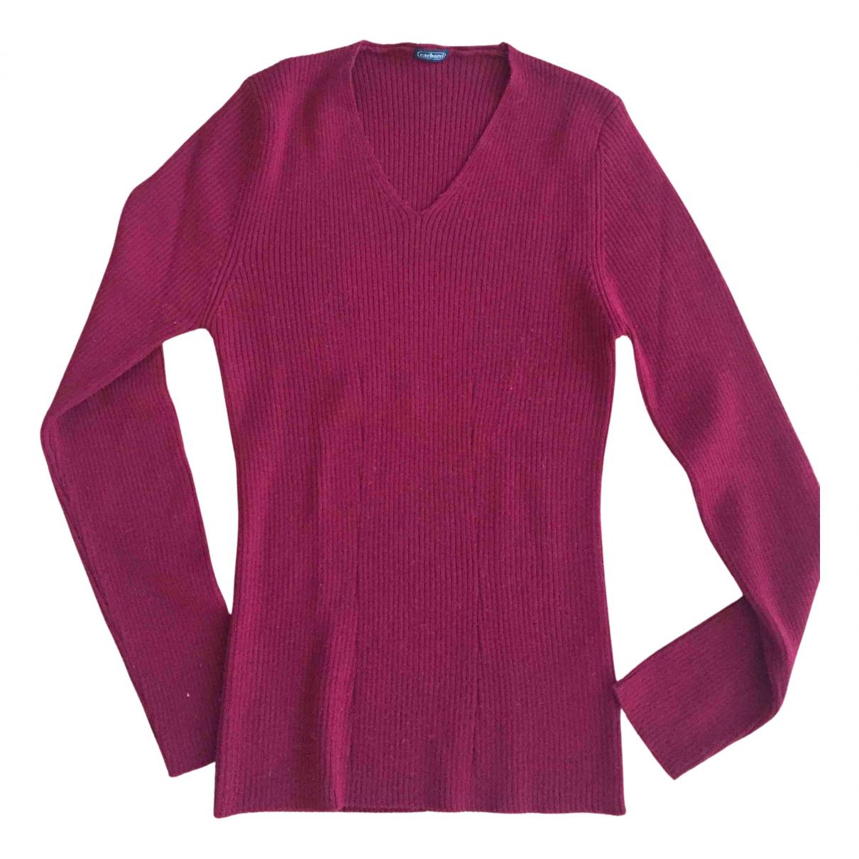 Cacharel N Red Wool Knitwear for Women S International