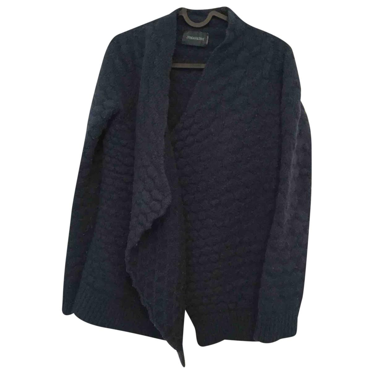 Zadig & Voltaire \N Blue Wool Knitwear for Women 36 FR