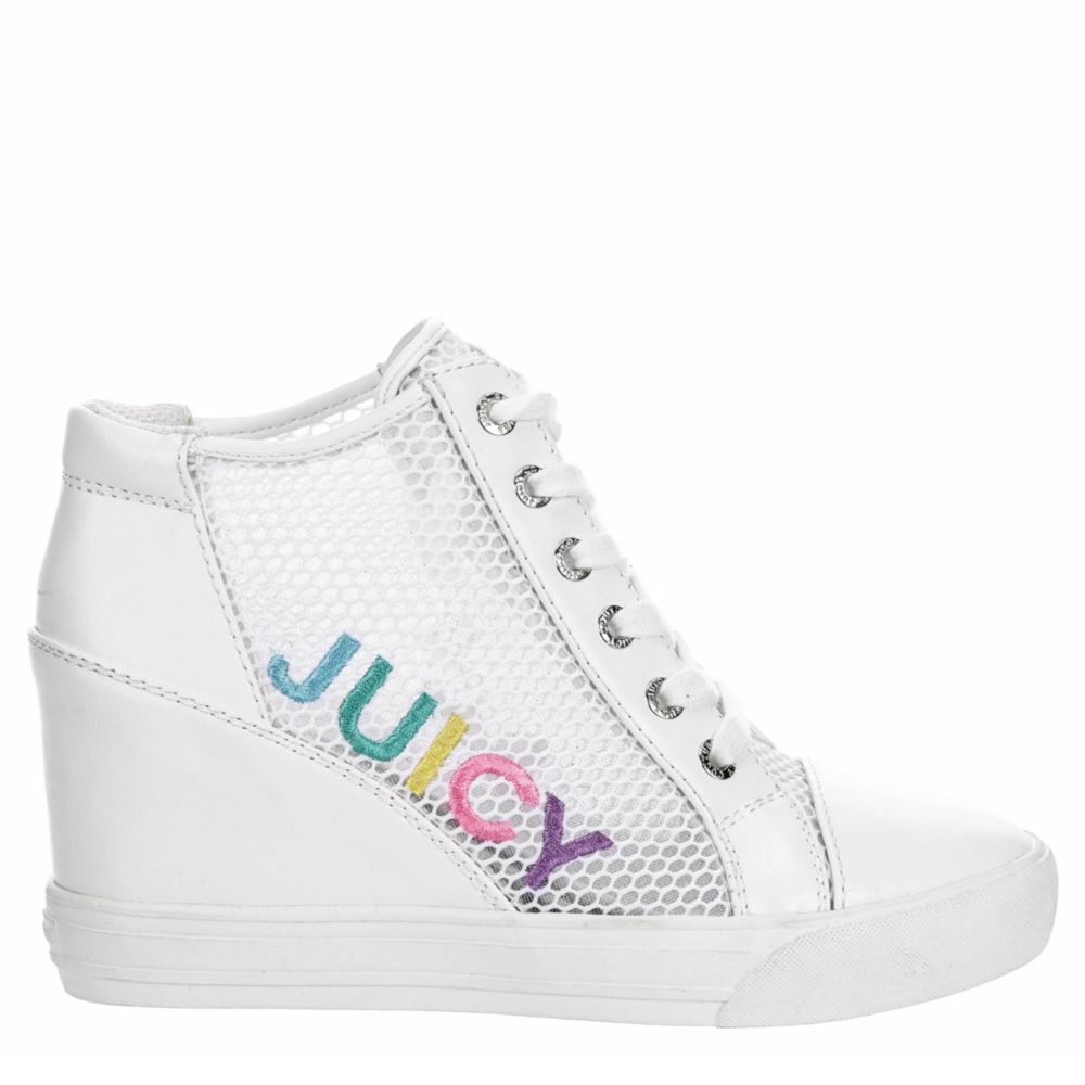 Juicy Couture Womens Jump Wedge Shoes Sneakers