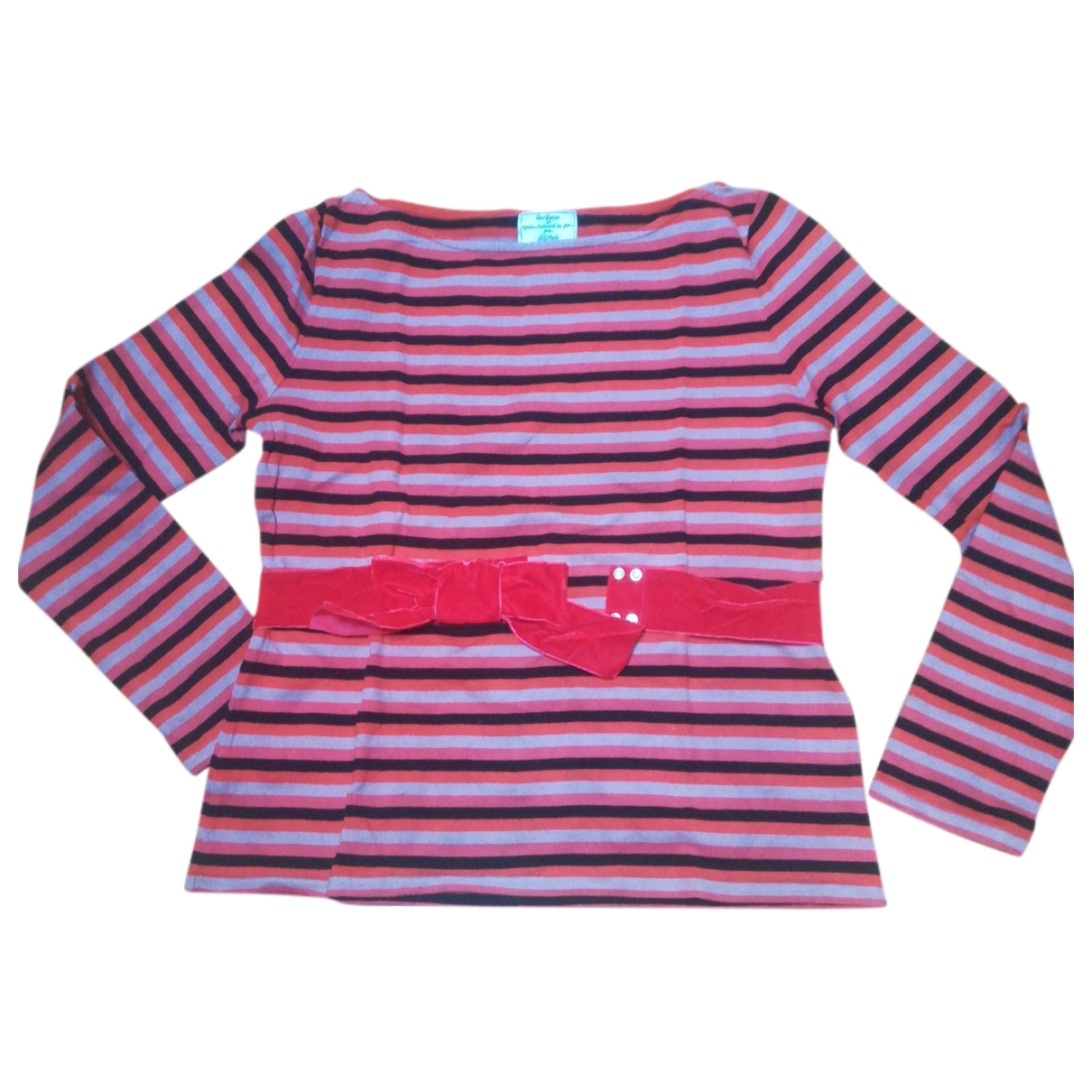 Petit Bateau \N Red Cotton Knitwear for Women L International