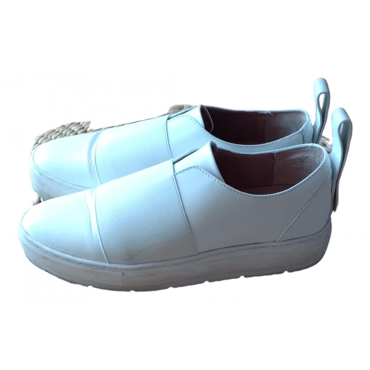 Jil Sander \N Sneakers in  Weiss Leder