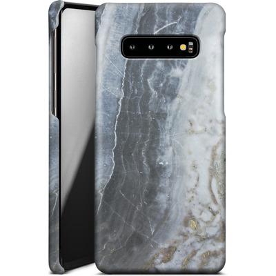 Samsung Galaxy S10 Plus Smartphone Huelle - Desaturated Marble von Emanuela Carratoni