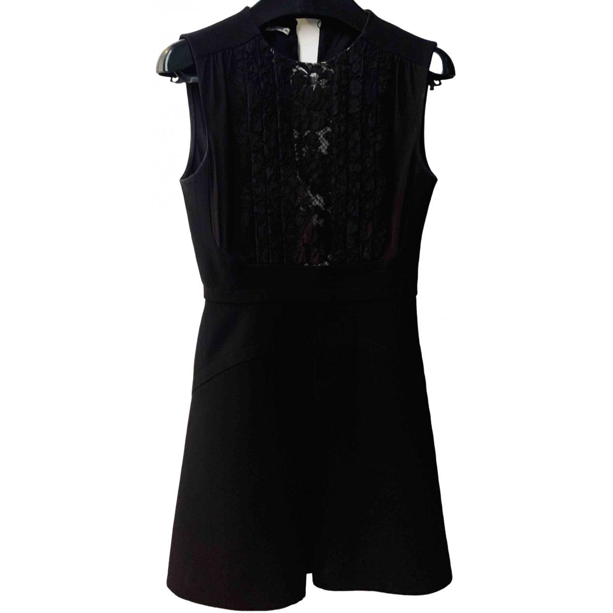 Miu Miu \N Kleid in  Schwarz Wolle