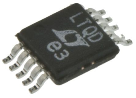 Analog Devices LTC4151IMS#PBF, Dual-Channel Voltage Monitor 2V max. 10-Pin, MSOP (2)