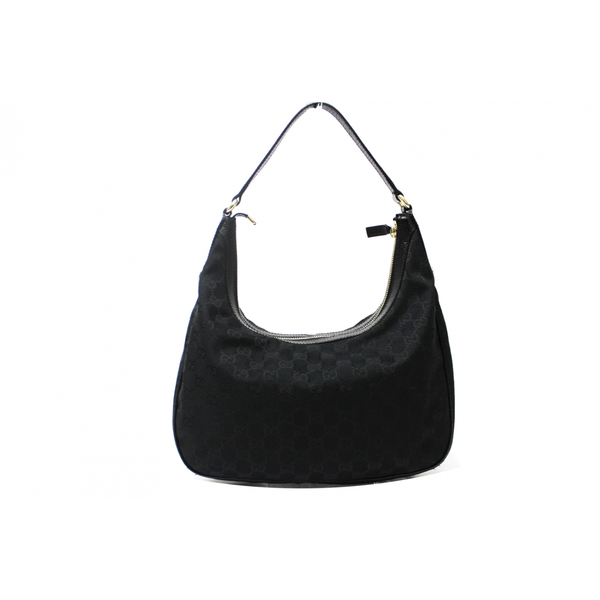 Gucci Hobo Black Cloth handbag for Women \N