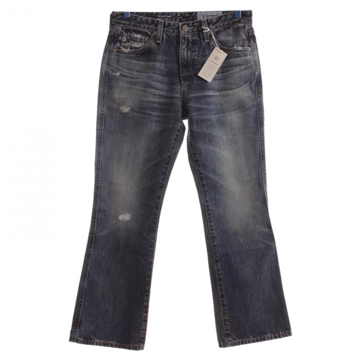 Ag Jeans \N Blue Cotton Jeans for Women 34 FR