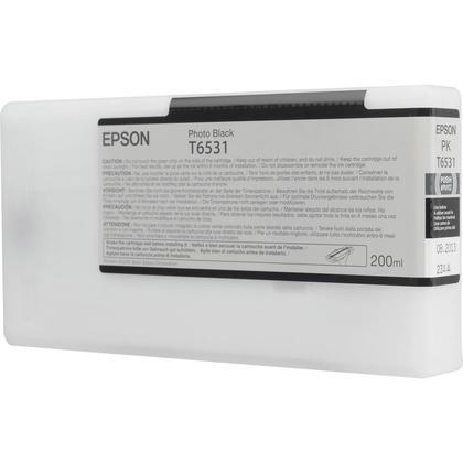 Epson T653100 cartouche d'encre originale noire photo