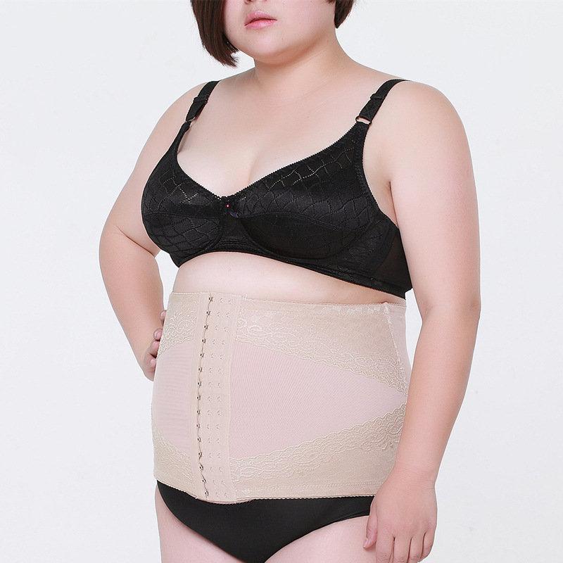 Body Shaping Belt Abdominal Waist Corset Shaping Underwear Plus Size Weight Loss Tummy Tuck Belt