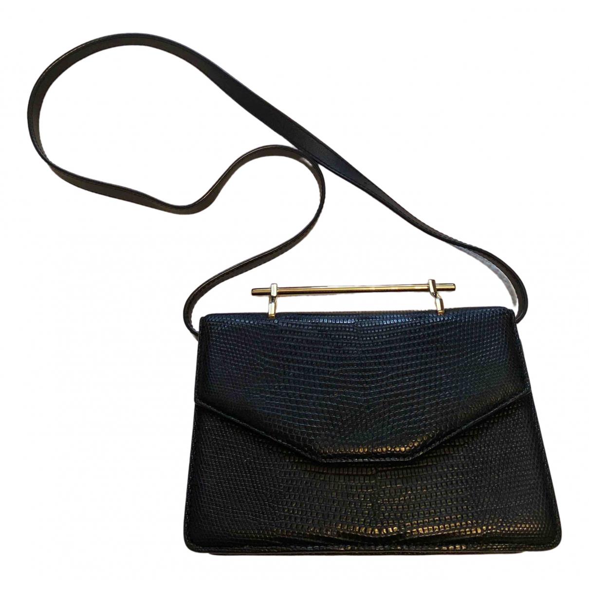 M2malletier \N Handtasche in  Schwarz Echse