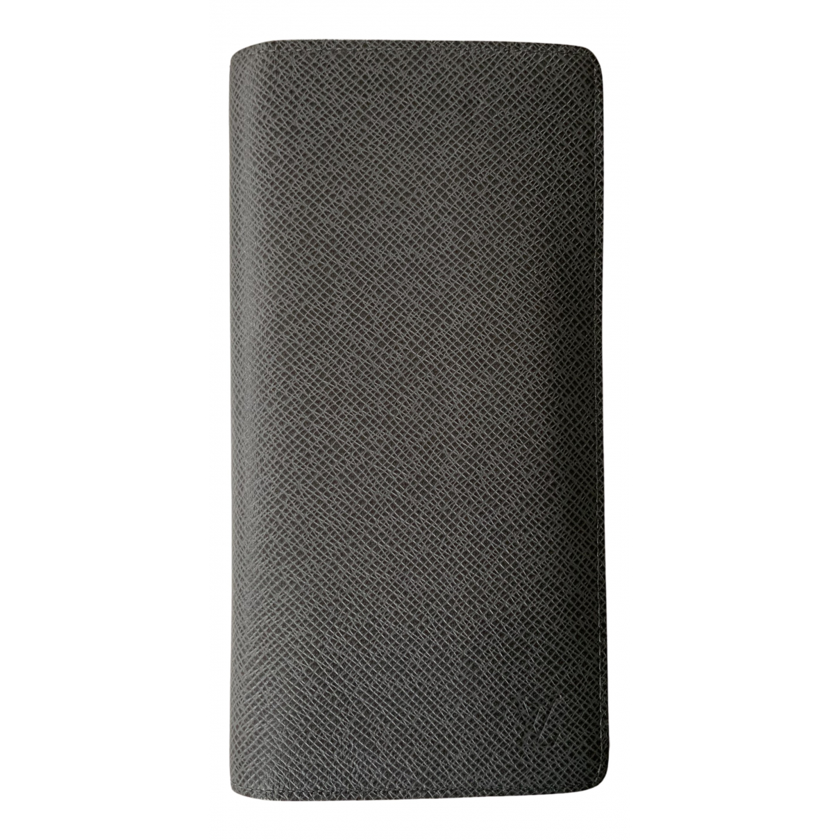 Louis Vuitton - Petite maroquinerie Columbus pour homme en cuir - gris