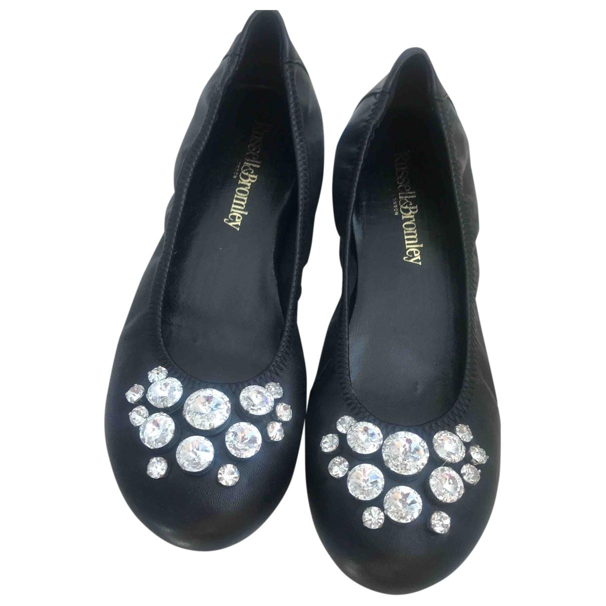 Russell & Bromley \N Ballerinas in  Schwarz Leder