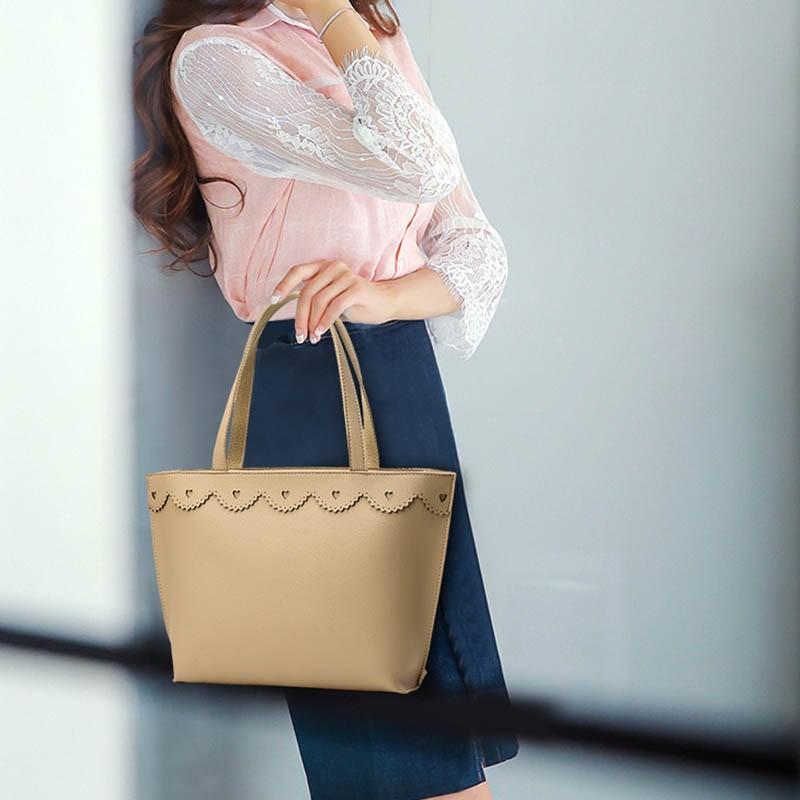 Ericdress Simple Lace Trimmings Shoulder Bag