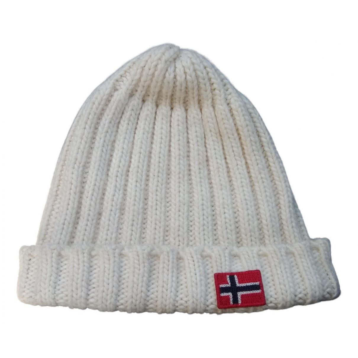 Napapijri N Beige Wool hat for Women M International