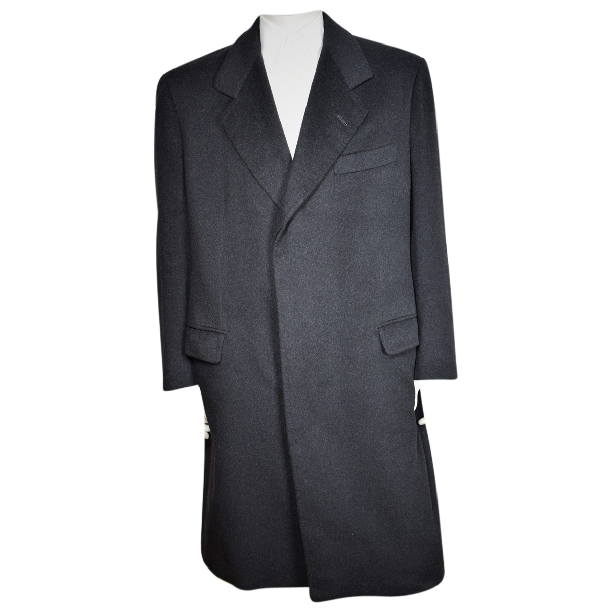 Autre Marque - Manteau   pour homme en cachemire - noir