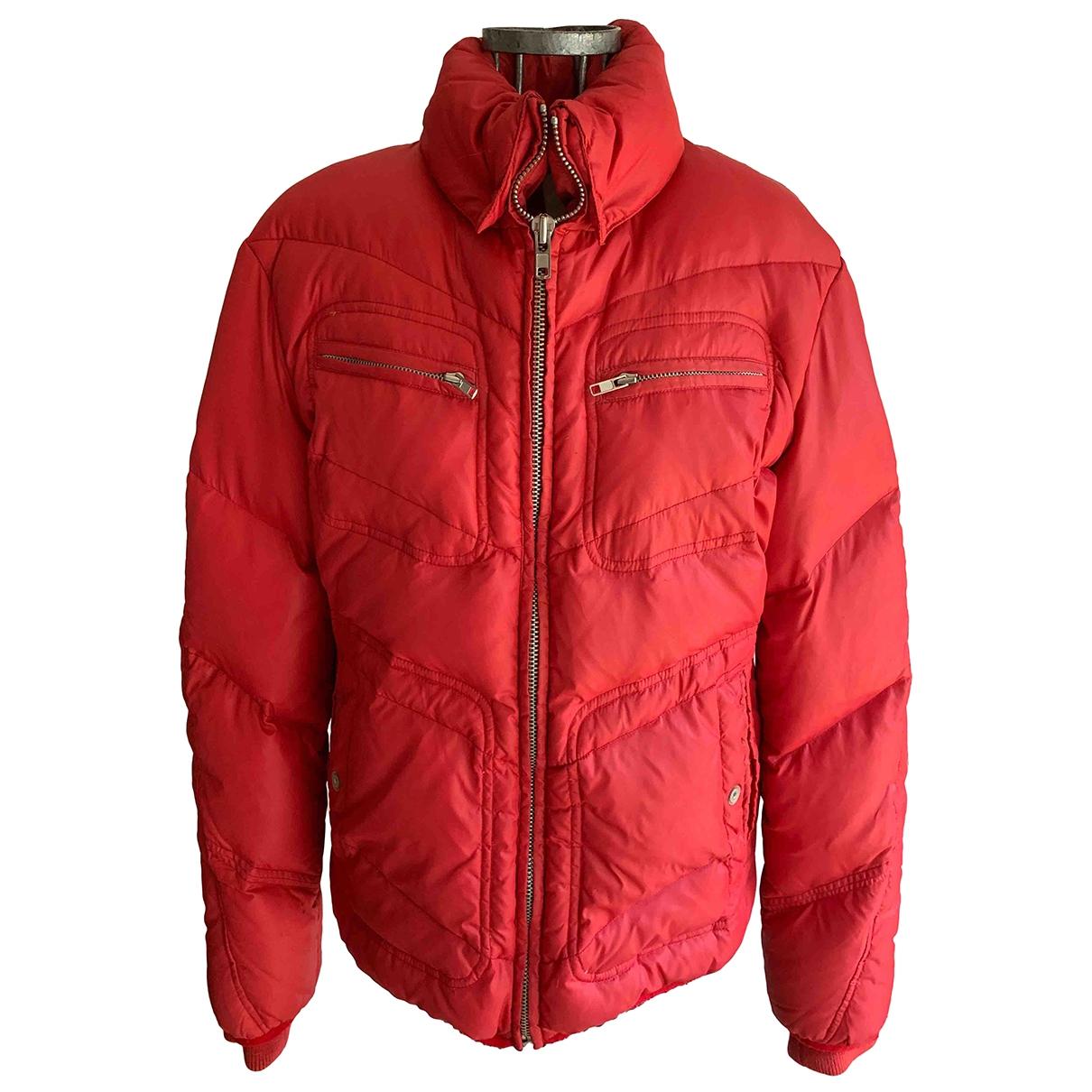 Diesel - Manteau   pour homme - rouge