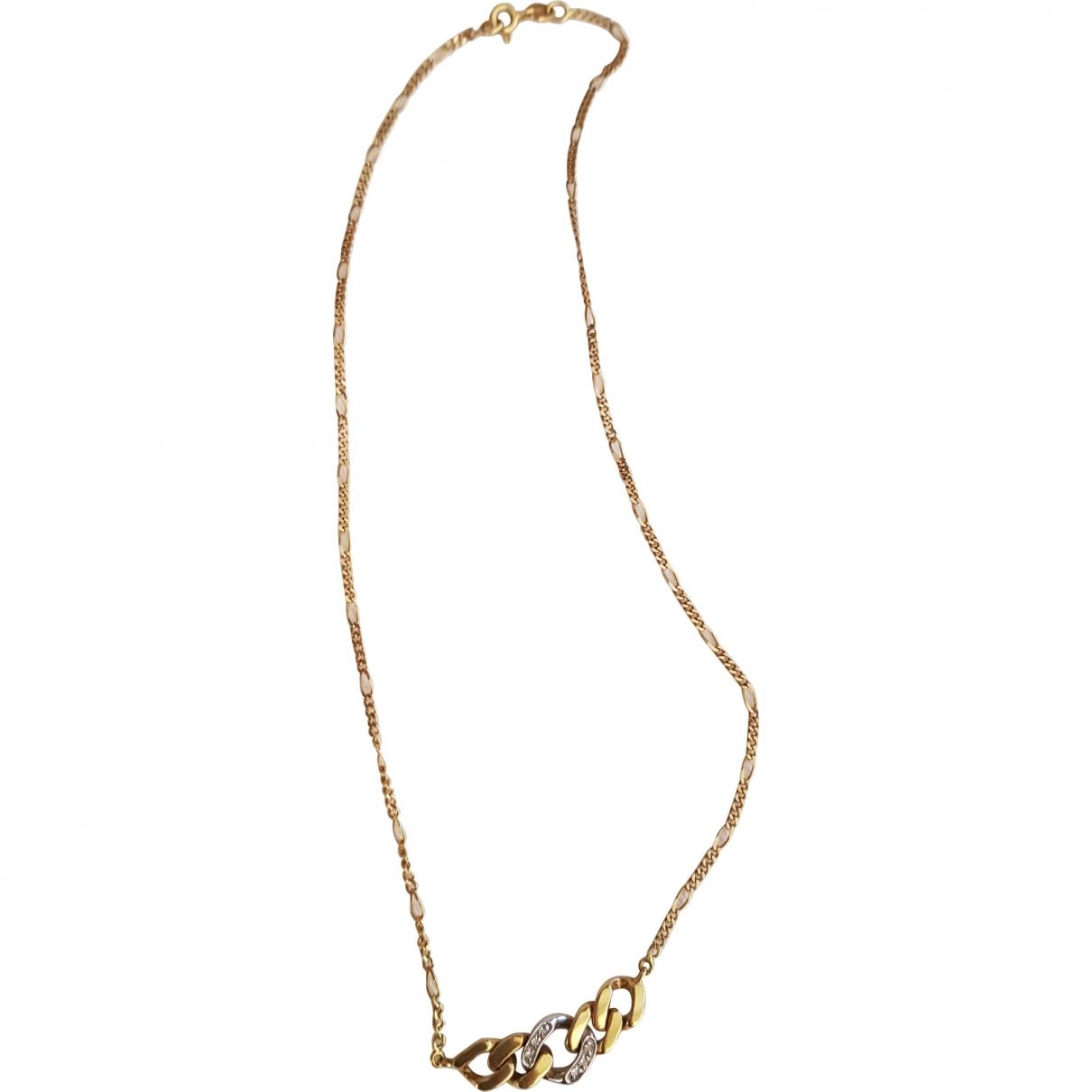 - Collier   pour femme en or jaune