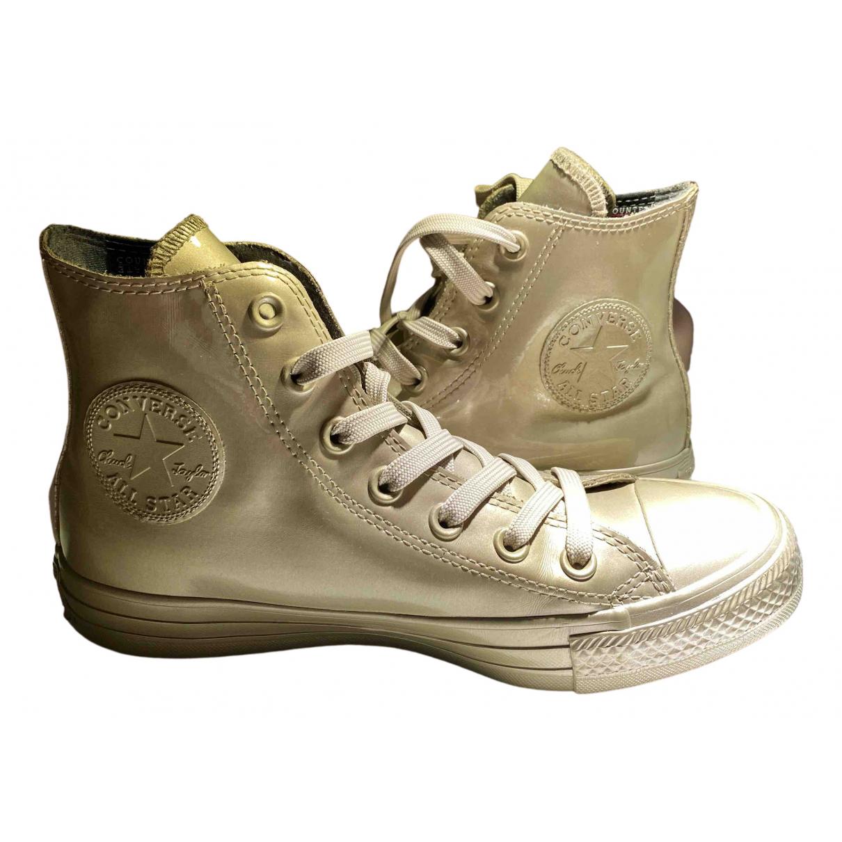 Converse \N Sneakers in Leinen