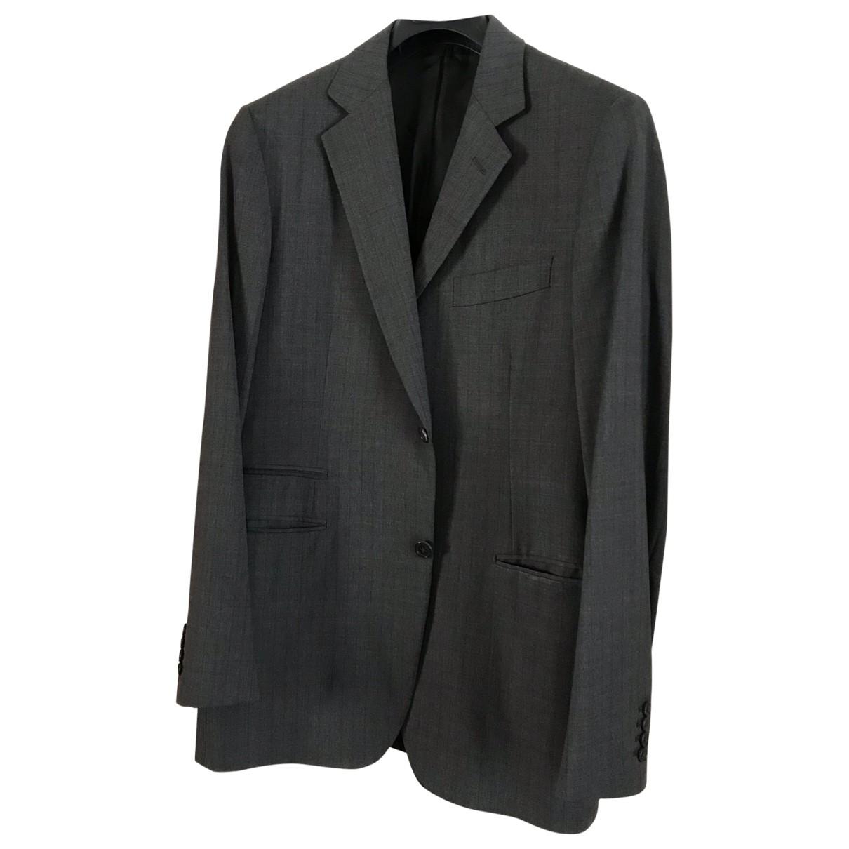 Hermes - Vestes.Blousons   pour homme en laine - gris