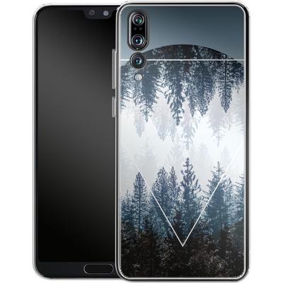Huawei P20 Pro Silikon Handyhuelle - Woods 4 von Mareike Bohmer