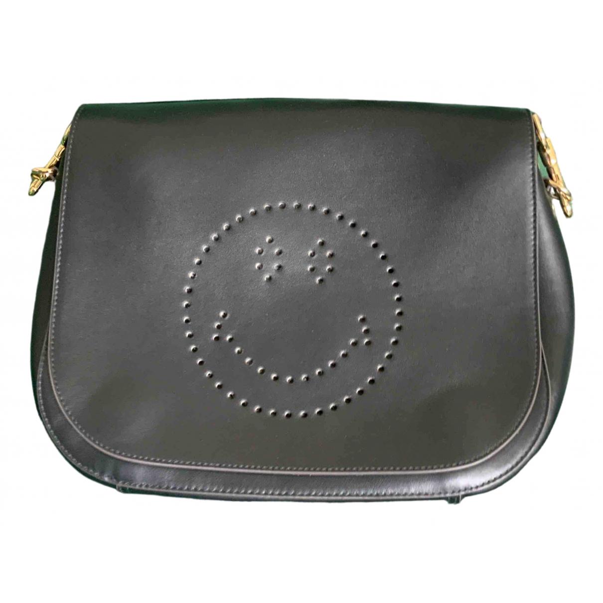Anya Hindmarch Ebury Maxi  Black Leather handbag for Women \N