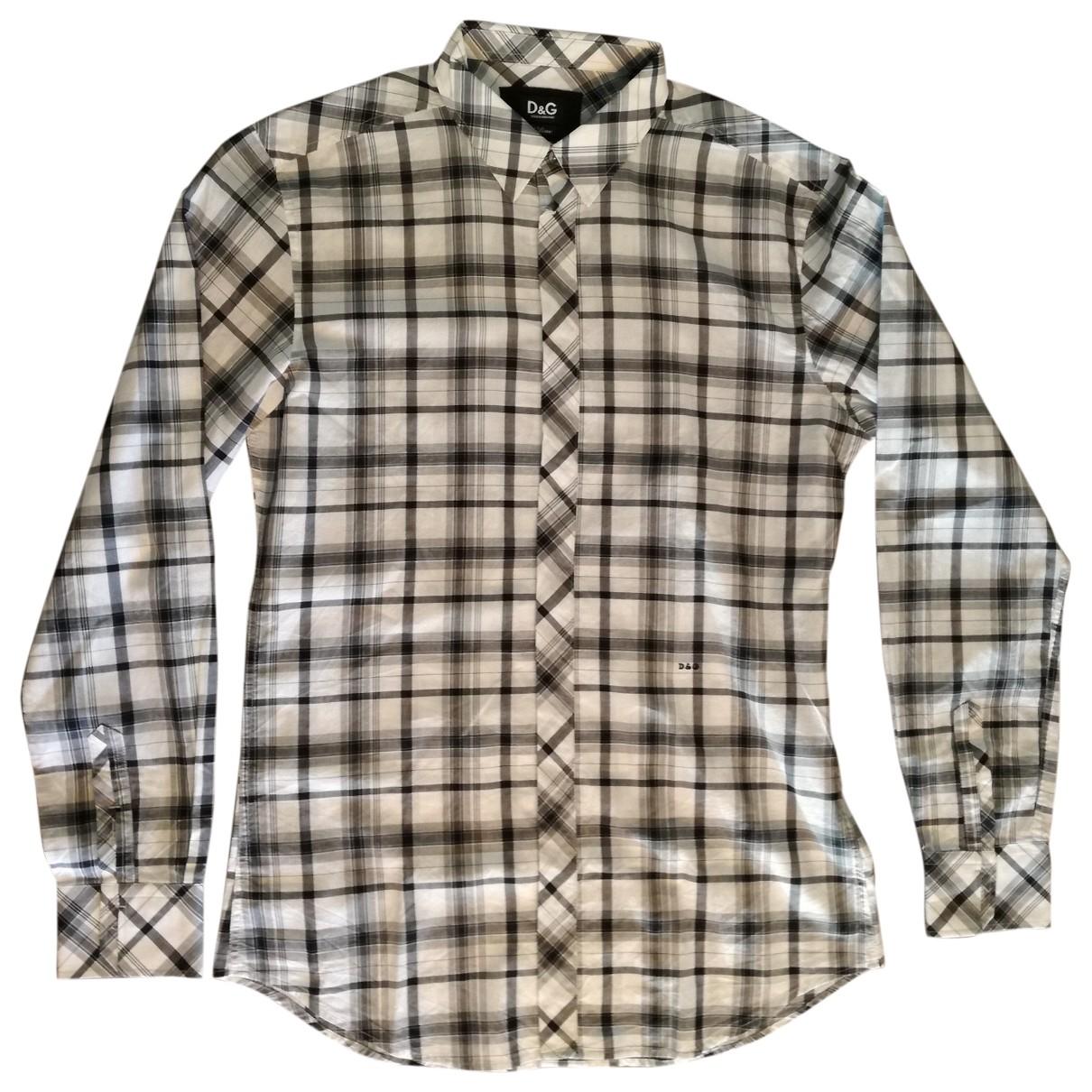 D&g \N Hemden in  Weiss Baumwolle